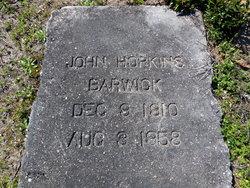 John Hopkins Barwick