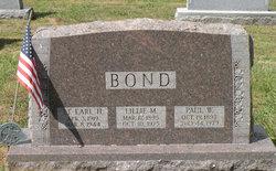 Lieut Earl Henry Bond