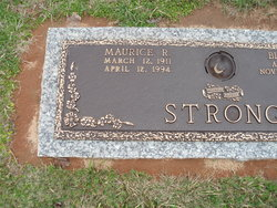 Maurice R Strong