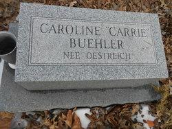 Caroline Carrie <i>Oestreich</i> Buehler