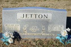 Beulah Ann <i>Rye</i> Jetton