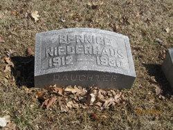 Bernice Elizabeth Niederhaus