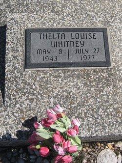 Thelta Louise <i>Jones</i> Whitney