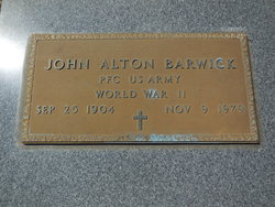 John Alton Barwick, Sr