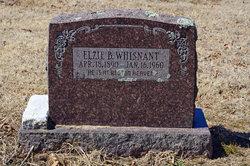 Elzie Bunyon Whisnant, Sr