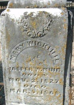 Mary <i>Wickliffe</i> Muir