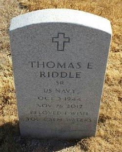 Thomas Ellis Riddle