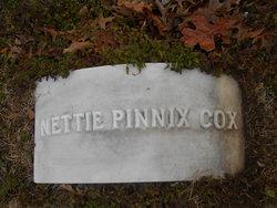 Nettie <i>Pinnix</i> Cox
