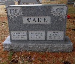 Garnet L. Wade