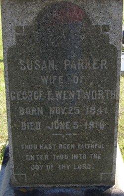 Susan <i>Parker</i> Wentworth
