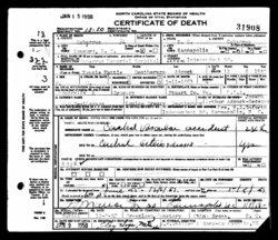 Nannie Mattie <i>Deatherage</i> Adcock