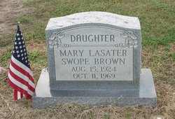 Mary C. <i>Lasater</i> Brown