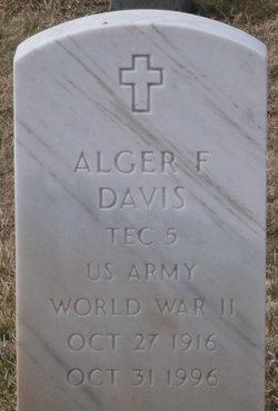 Alger F Davis