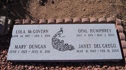 Janet Rae <i>Humphrey</i> DelGrego
