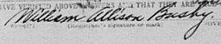Dr William Allison Busby, Sr