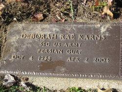 Sgt Deborah Rae Karns