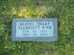 Muriel <i>Sharp</i> Kirk