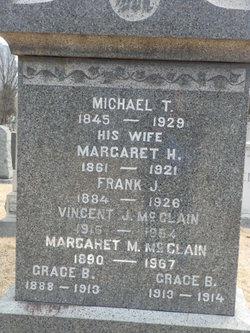 Margaret <i>Mangan</i> McClain