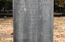 Martha <i>Annis</i> Abell