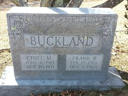 Franklin Pat Buckland