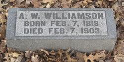 Capt A.W Williamson