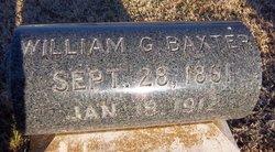 William G Baxter