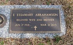 Eva Essamary <i>Parker</i> Abrahamson