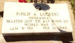 Sgt Philip A. Luckert
