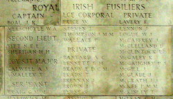 Company Serjeant Major Arthur James Calwell
