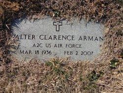 Walter Clarence Arman