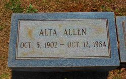 Alta Mary Allen