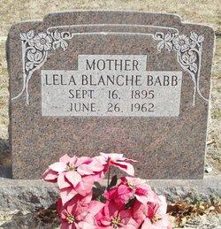 Lela Blanche <i>Blevins</i> Babb