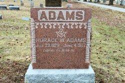 Horace W. Adams