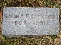 Susan Ann <i>Barton</i> Alexander