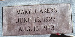 Mary L <i>Anderson</i> Akers
