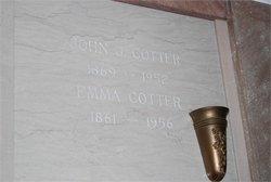 Emma <i>Hoerl</i> Cotter