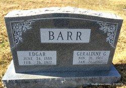 Geraldine G <i>Gates</i> Barr
