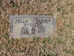 Nellie <i>Holliman</i> Andrews