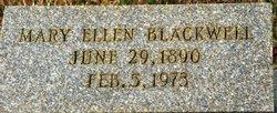 Mary Ellen Blackwell