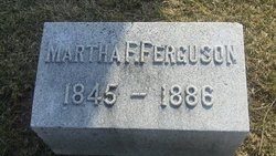 Martha F <i>Wallace</i> Ferguson