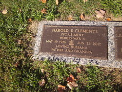 Harold E Clements
