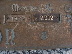 Maxine G Gipson
