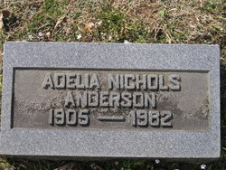 Adelia <i>Nichols</i> Anderson