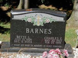 Bette I. <i>Bender</i> Barnes