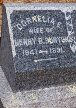 Cornelia E <i>Howland</i> Burton