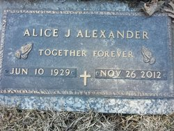 Alice J. <i>Porter</i> Alexander