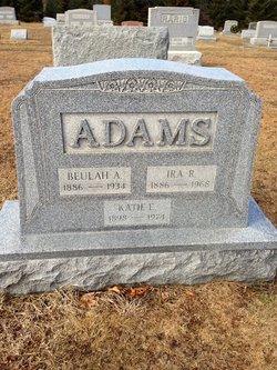 Beulah Agnes <i>Houck</i> Adams