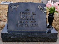 Jessie M <i>Wright</i> Baetz