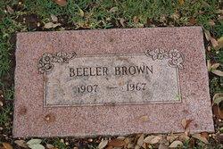 Beeler Brown