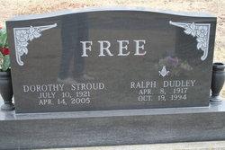 Dorothy <i>Stroud</i> Free